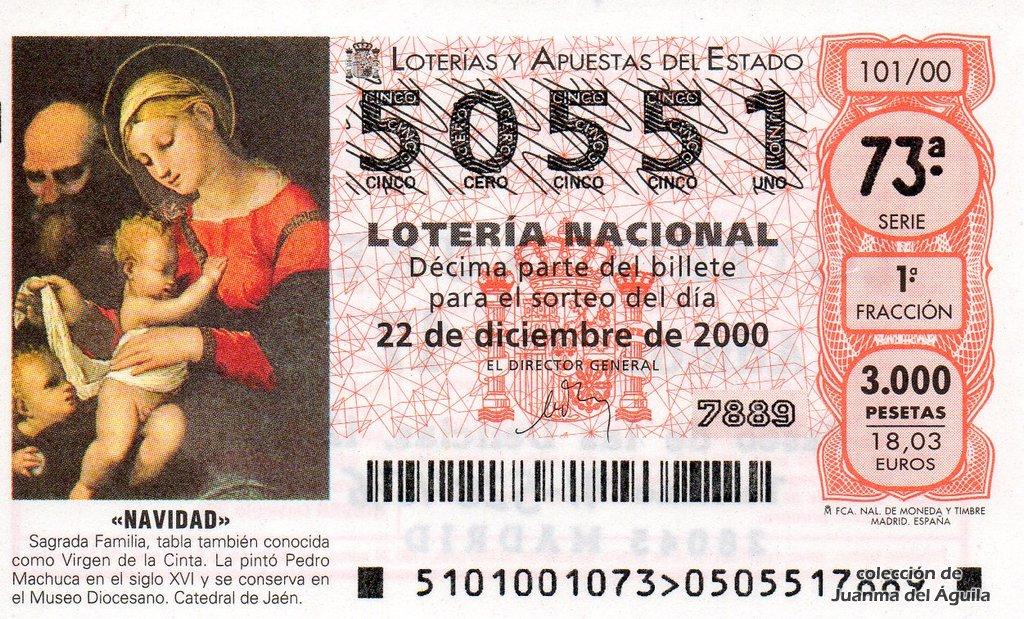 loteria nacional loteria de navidad 2006: