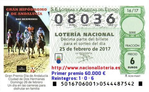 Lotería Nacional Del Sábado 25 De Febrero De 2017 Resultados Del Lotería Nacional