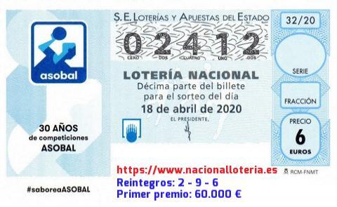 Loteria Nacional Sábado 18 De Abril De 2020 Comprobar Lotería Nacional